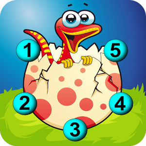 Connect The Dots Dinosaurs HD
