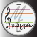 Playpad. Music Theory Stave Instrument.