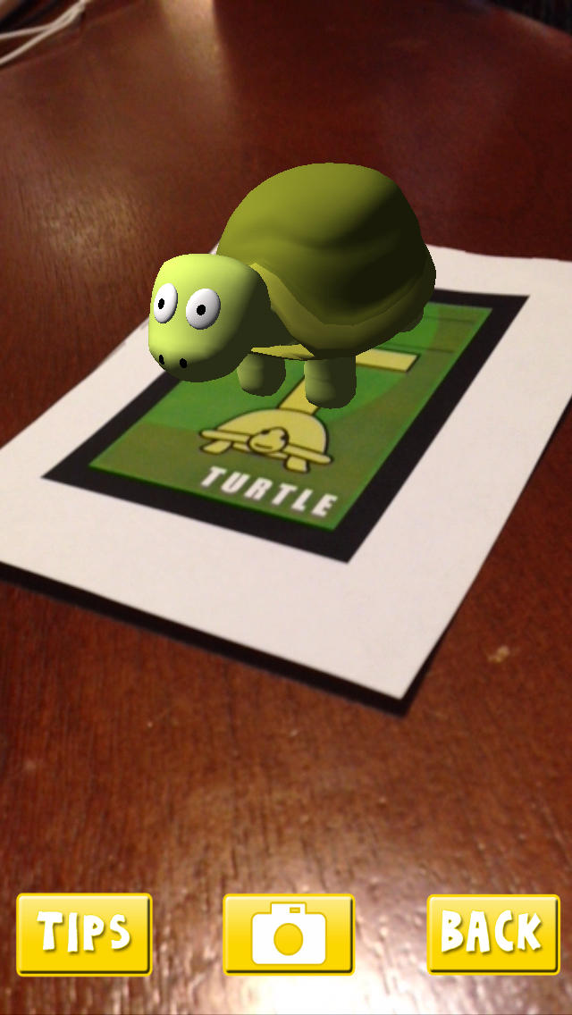 AR Flashcards-Animal Alphabet screenshot