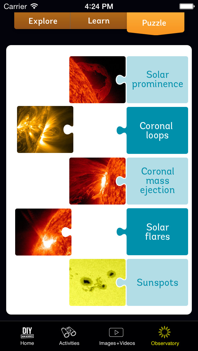 DIY Sun Science screenshot