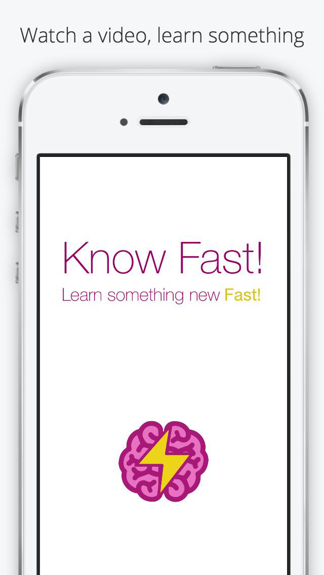Know Fast - Learn Something New, Fast! screenshot