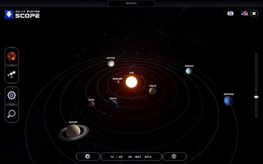 Solar System Scope screenshot