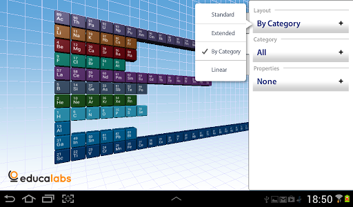 Periodic Table Educalabs screenshot
