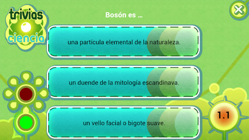 Trivias Ciencia screenshot