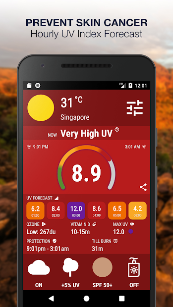 UV Index Now ???? Forecast & Sun Tracker - UVI Mate screenshot
