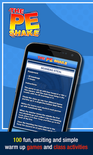 PE Shake - Games for Teachers screenshot