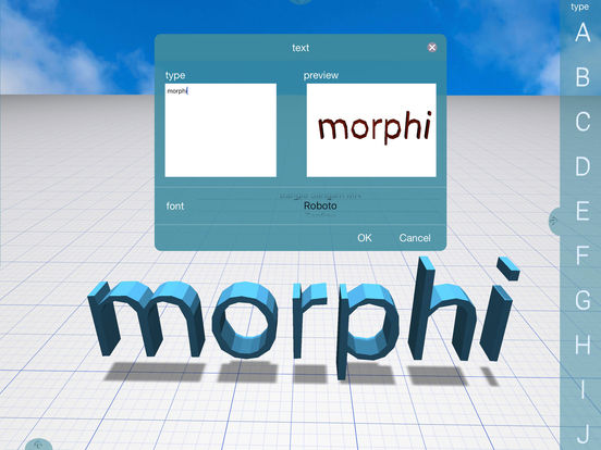 Morphi screenshot