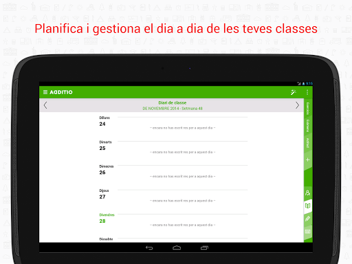 Quadern del Professor Additio screenshot