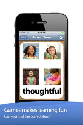 ABA Flash Cards & Games - Emotions screenshot