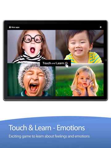Touch and Learn - Emotions screenshot