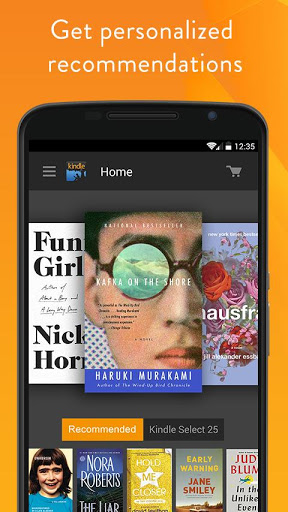 Amazon Kindle screenshot
