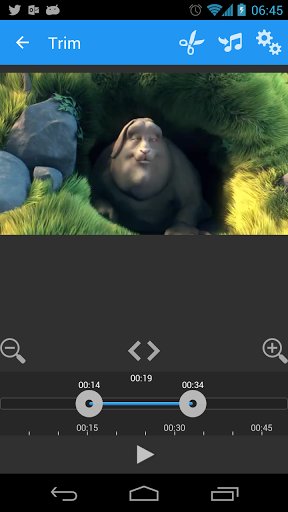 AndroVid Video Editor screenshot