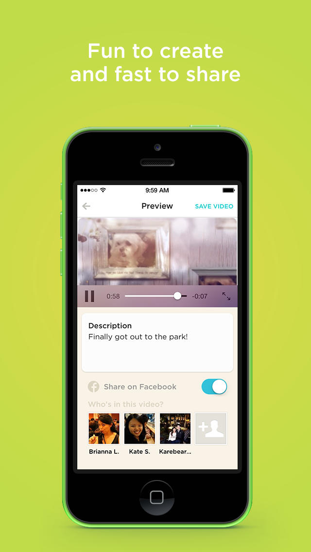 Animoto Video Maker screenshot