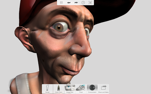 123D Sculpt+ screenshot