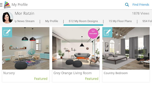 Homestyler Interior Design screenshot