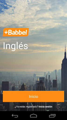 Learn English with Babbel screenshot