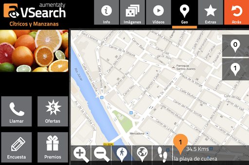 Aumentaty VSearch screenshot
