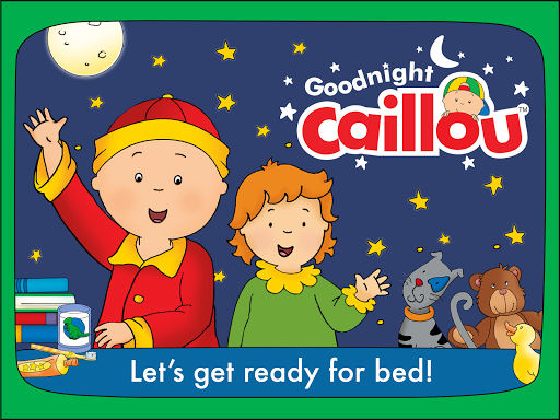 Goodnight Caillou screenshot