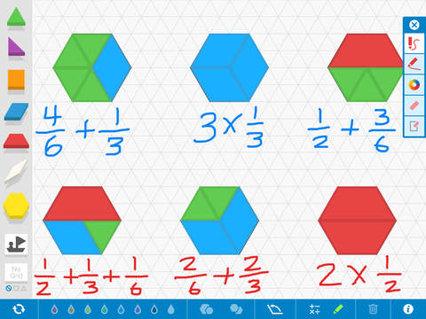 Pattern Shapes, by the Math Learning Center screenshot