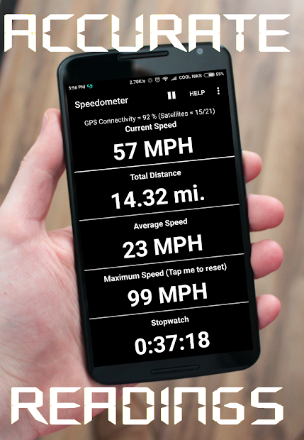 GPS Speedometer and Odometer screenshot