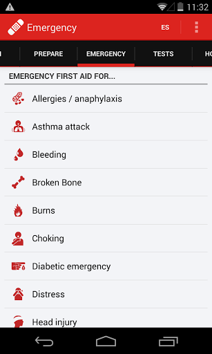 First Aid - American Red Cross screenshot