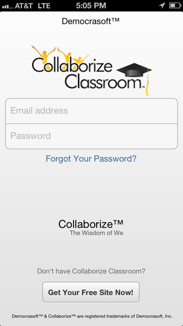 Collaborize Classroom screenshot