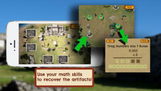 Loot Pursuit: Tulum: The Fun, Free Mathematics Game for ages 11-14 screenshot
