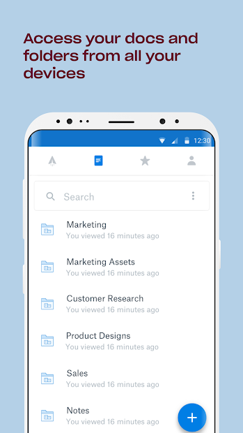 Dropbox Paper screenshot