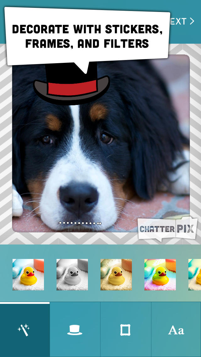 ChatterPix screenshot