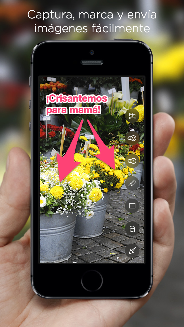 Skitch: Capturar, Marca, Enviar screenshot