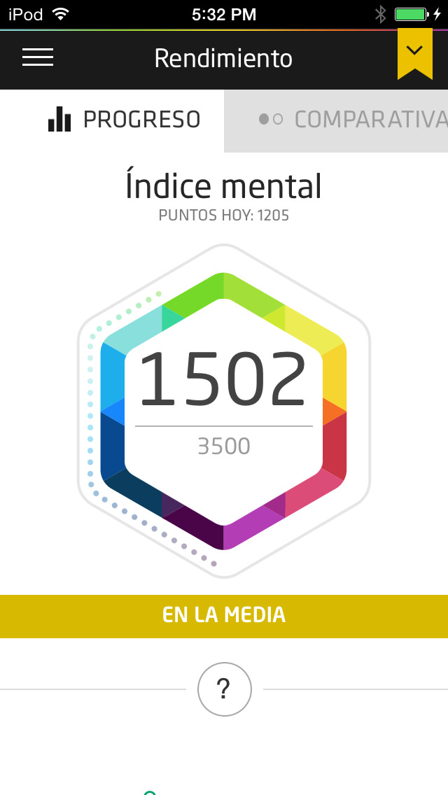 Fit Brains Trainer (Entrenamiento mental) screenshot