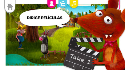 Estudio cinematográfico Fox and Sheep screenshot
