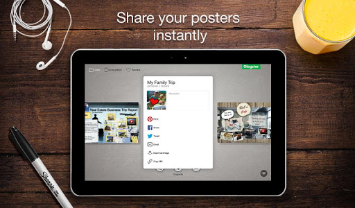 Glogster - Multimedia Posters screenshot