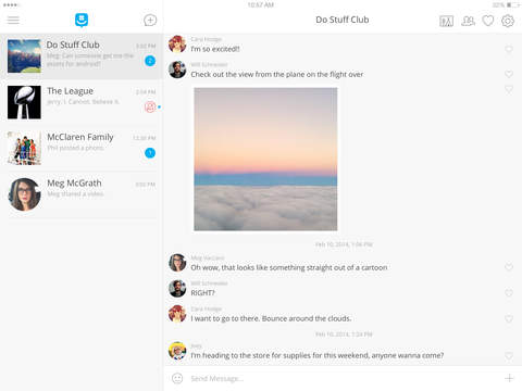 GroupMe™ screenshot