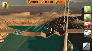 Bridge Constructor Playground FREE screenshot