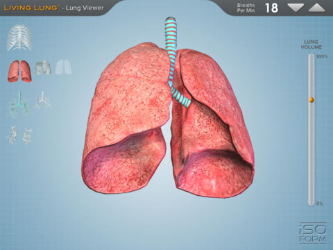 Living Lung™ - Lung Viewer screenshot