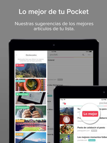 Pocket: Save Articles and Videos to View Later screenshot