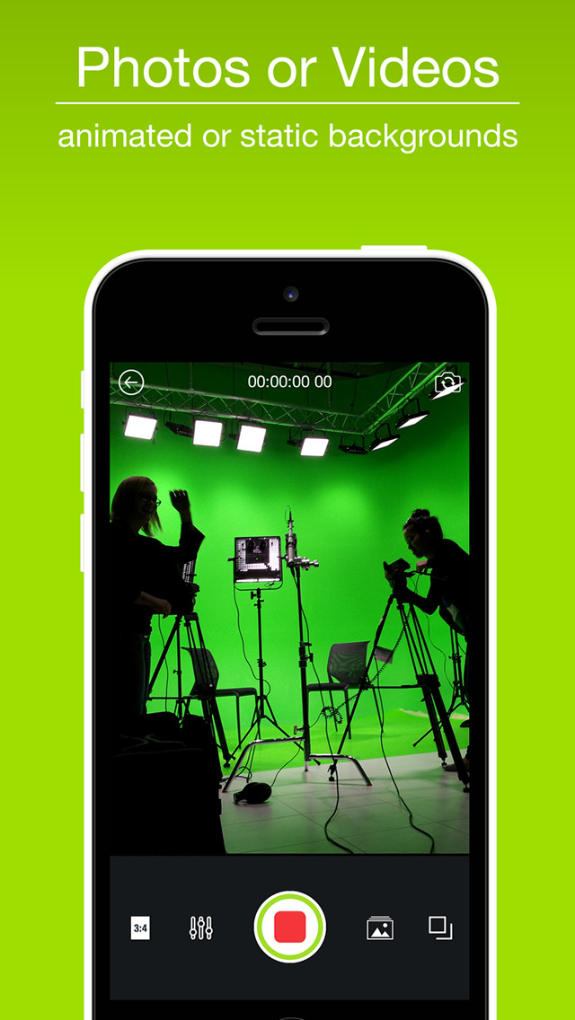 Chroma Key Studio Pro - Green, Blue & Pink Screen screenshot