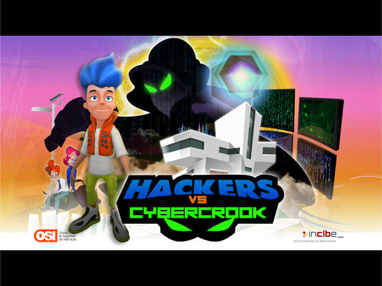 Hackers vs. Cybercrook screenshot