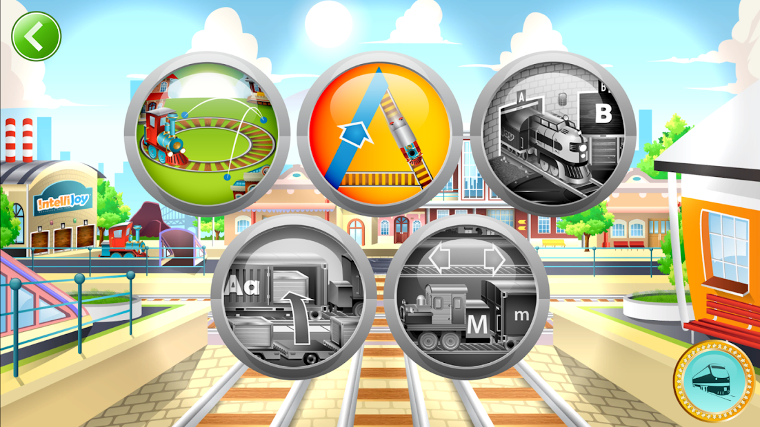 Learn Letter Names and Sounds with ABC Trains screenshot