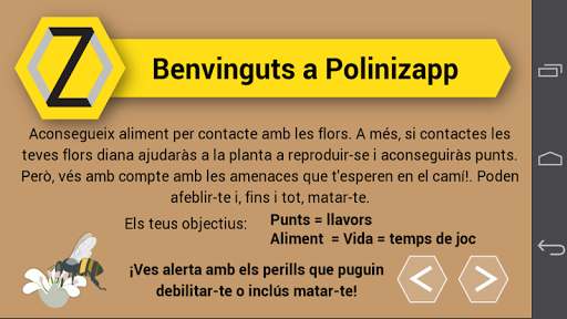 Polinizapp screenshot