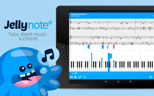 Jellynote - Tabs & Sheet Music screenshot