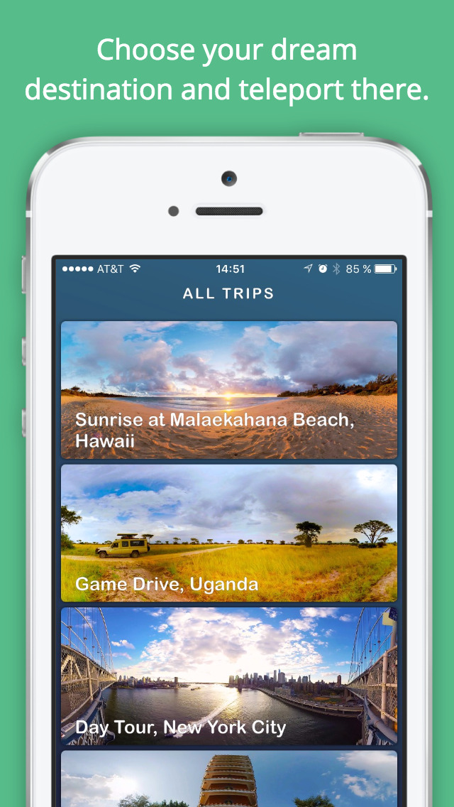 Ascape Virtual Travel & 360 Video Tours screenshot