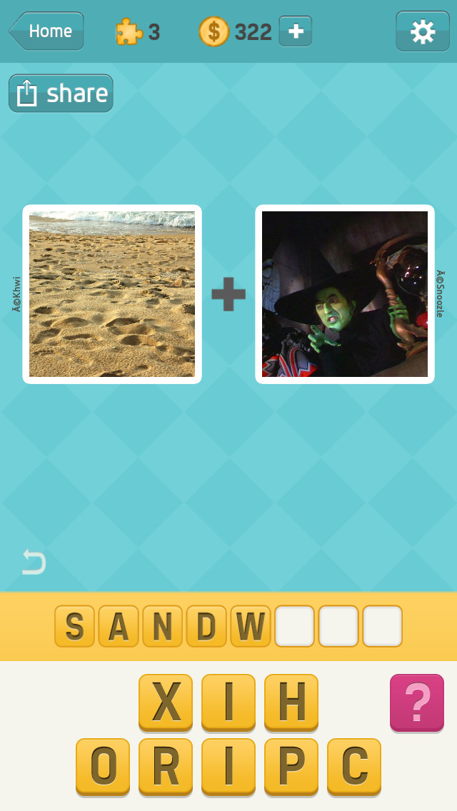 Pictoword Free: 2 Pics, Guess What´s the 1 Word? screenshot