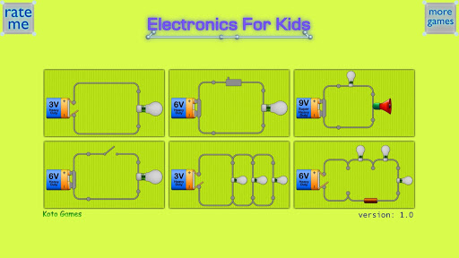Electronics For Kids screenshot