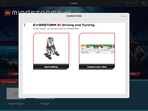 LEGO® MINDSTORMS® Programmer screenshot