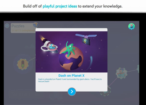 Blockly for Dash & Dot robots screenshot