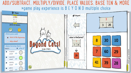 Beyond Cats! Grade 2 Math screenshot