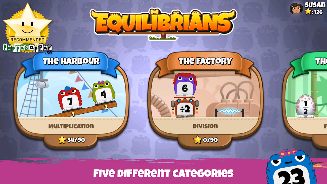 Equilibrians screenshot