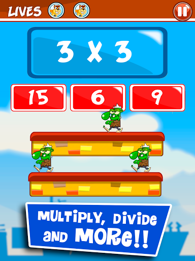 Math learning games for kids screenshot